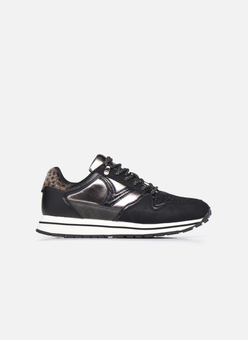 Sneaker Victoria Cometa Multimaterial Br schwarz ansicht von hinten
