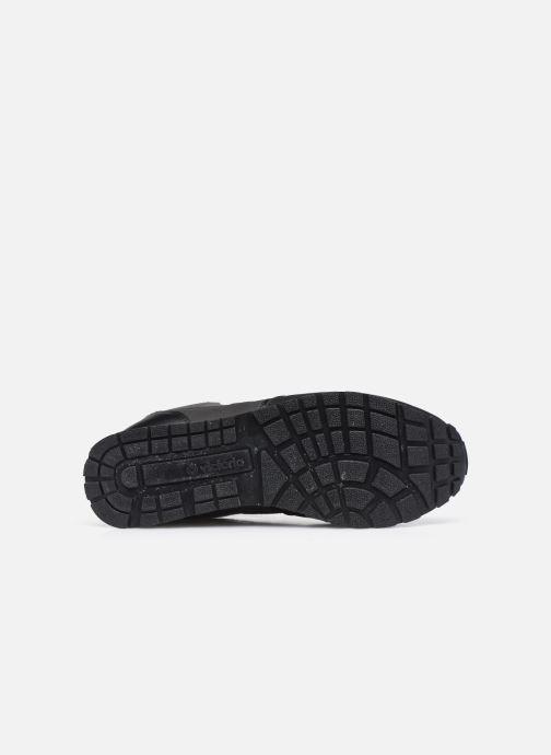 Sneaker Victoria Cometa Multimaterial Br schwarz ansicht von oben