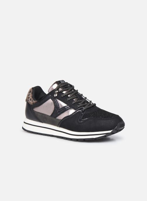 Sneaker Victoria Cometa Multimaterial Br schwarz detaillierte ansicht/modell