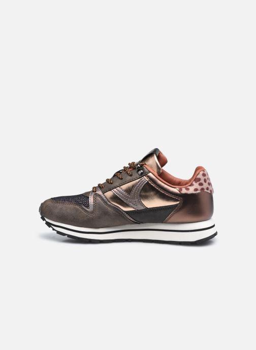 Sneaker Victoria Cometa Multimaterial Br braun ansicht von vorne