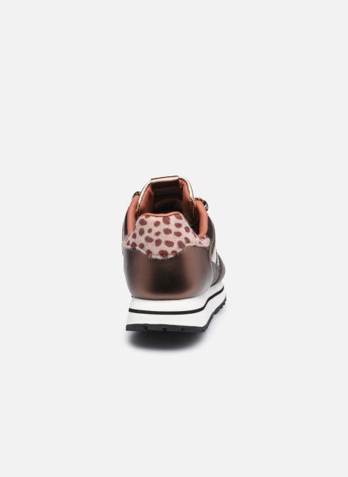 Sneaker Victoria Cometa Multimaterial Br braun ansicht von rechts