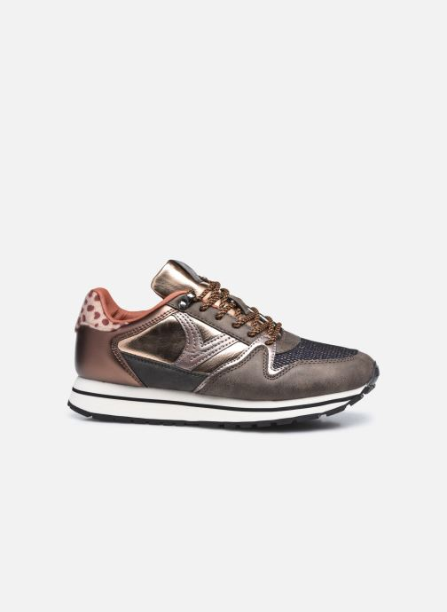 Sneaker Victoria Cometa Multimaterial Br braun ansicht von hinten