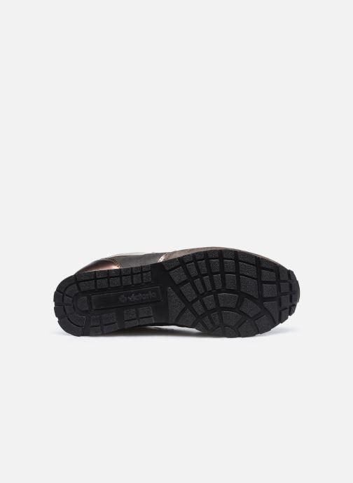 Sneaker Victoria Cometa Multimaterial Br braun ansicht von oben