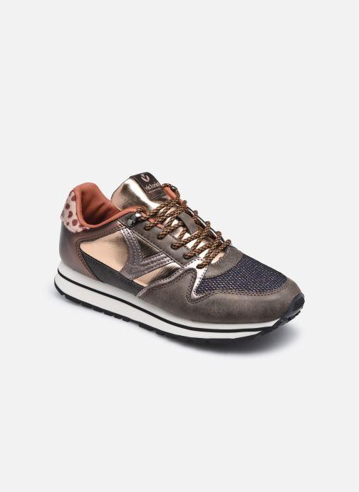 Sneaker Victoria Cometa Multimaterial Br braun detaillierte ansicht/modell