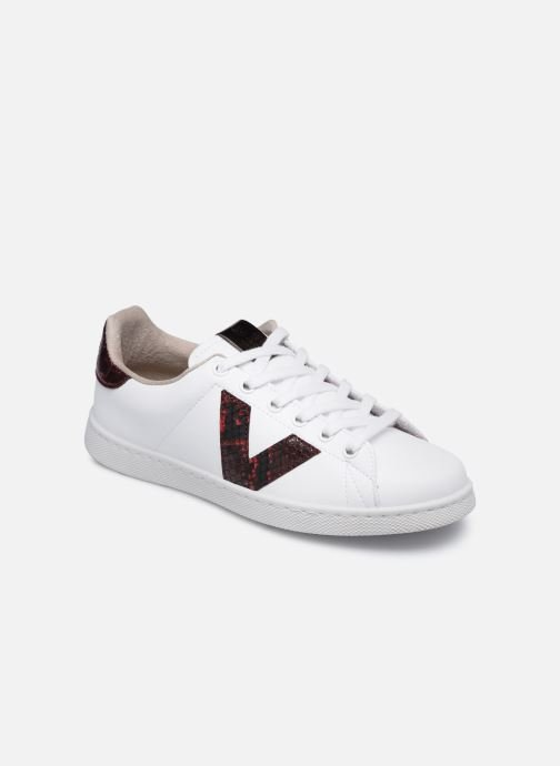Sneakers Donna Tenis Piel Vegana Detall