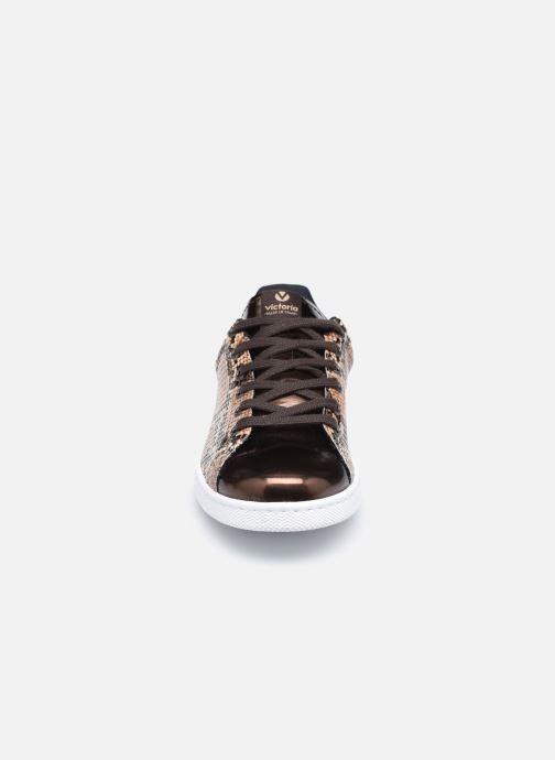 Sneaker Victoria Tenis Metal/Serpiente braun schuhe getragen