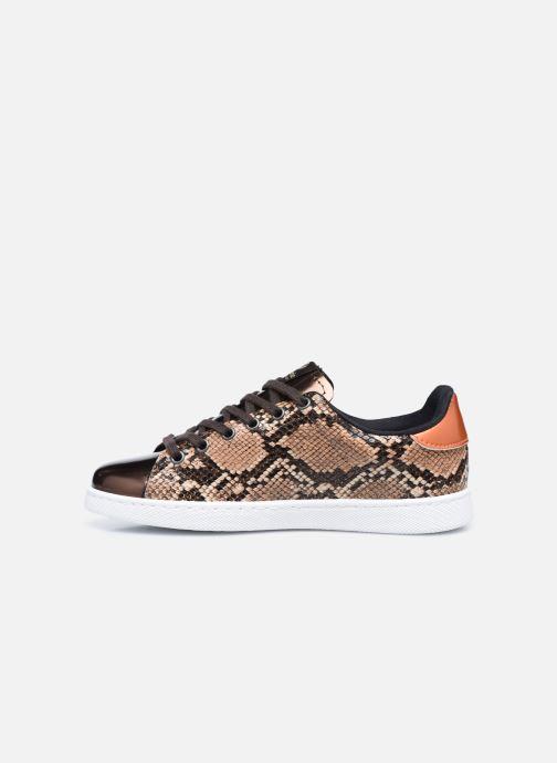 Sneaker Victoria Tenis Metal/Serpiente braun ansicht von vorne
