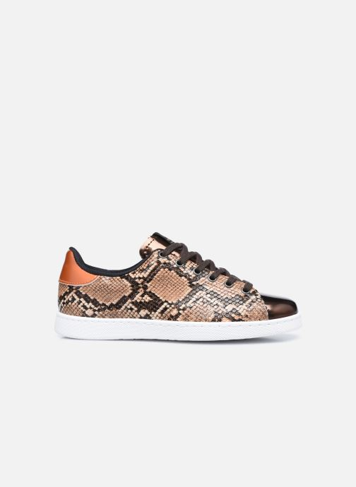 Sneaker Victoria Tenis Metal/Serpiente braun ansicht von hinten
