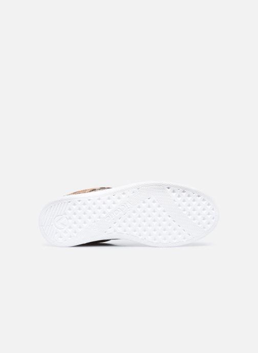 Sneaker Victoria Tenis Metal/Serpiente braun ansicht von oben
