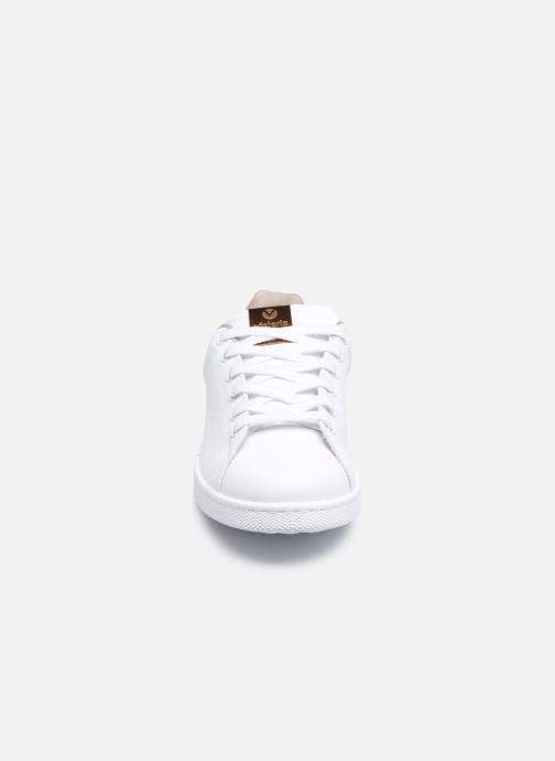 Baskets Victoria Tenis Piel Vegana/Serpien Blanc vue portées chaussures