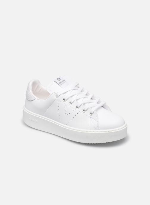 Sneakers Victoria Utopía Piel Vegana Mono Bianco vedi dettaglio/paio