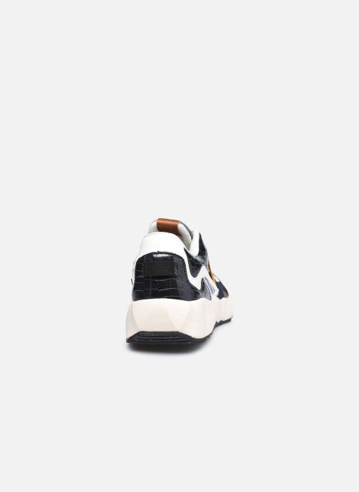 Sneaker Victoria Arista Multimaterial schwarz ansicht von rechts