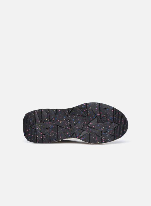 Sneaker Victoria Arista Multimaterial schwarz ansicht von oben