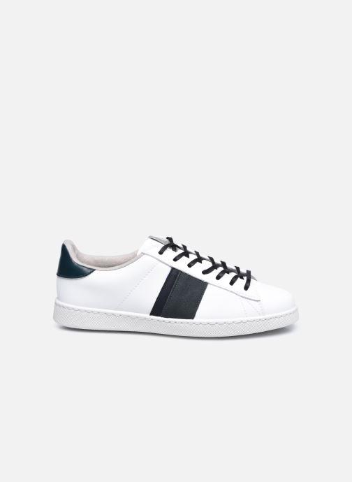 Sneakers Victoria Tenis Piel Vegana Detall Hvid se bagfra