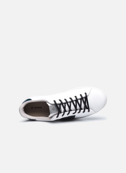 Sneakers Victoria Tenis Piel Vegana Detall Hvid se fra venstre