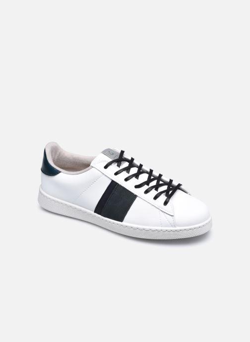 Sneakers Victoria Tenis Piel Vegana Detall Hvid detaljeret billede af skoene