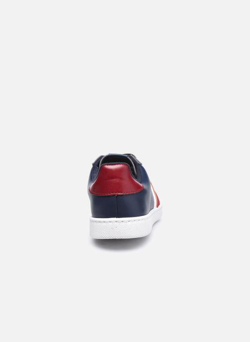 Sneakers Victoria Tenis Piel Vegana Detall Azzurro immagine destra