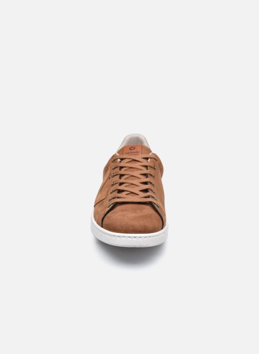 Sneaker Victoria Tenis Antelina Engrasad braun schuhe getragen
