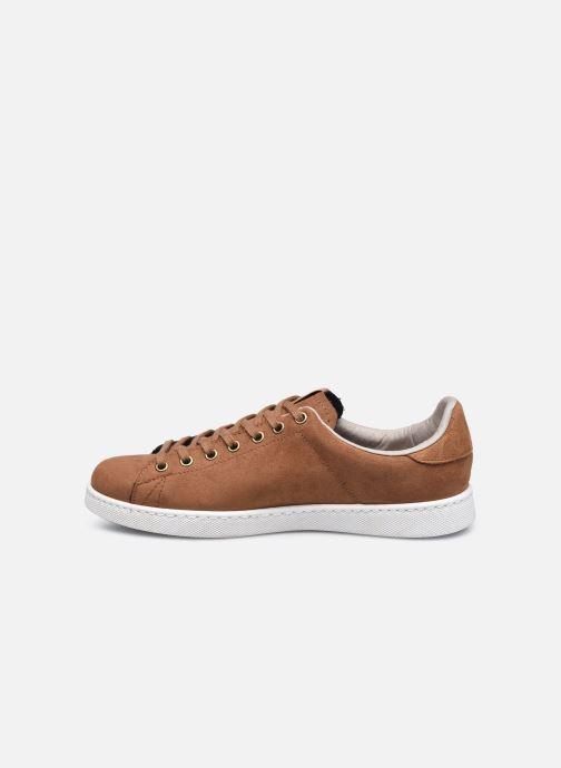 Sneaker Victoria Tenis Antelina Engrasad braun ansicht von vorne