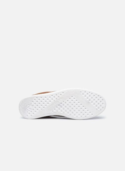 Sneaker Victoria Tenis Antelina Engrasad braun ansicht von oben