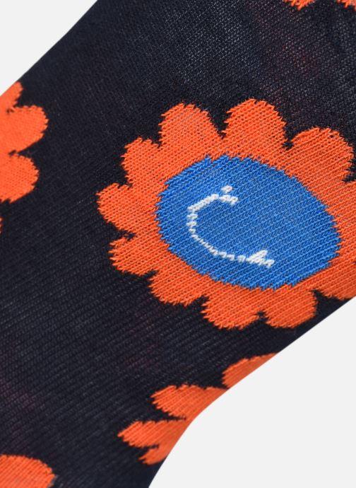 Chaussettes et collants Happy Socks Chaussettes Smiley Flowers Bleu vue portées chaussures