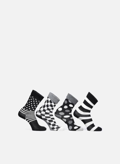 Chaussettes et collants Happy Socks Gift Box Classic Black & White Lot de 4 Noir vue détail/paire