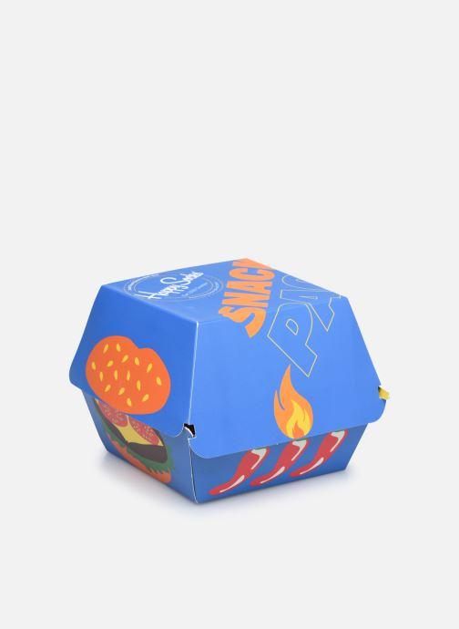 Socken & Strumpfhosen Happy Socks Gift Box Junk Food Lot de 3 mehrfarbig schuhe getragen
