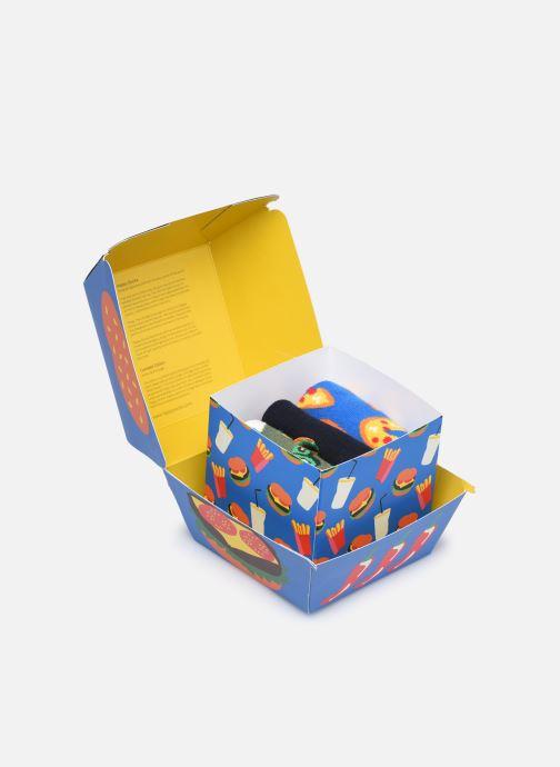 Socken & Strumpfhosen Happy Socks Gift Box Junk Food Lot de 3 mehrfarbig ansicht von vorne