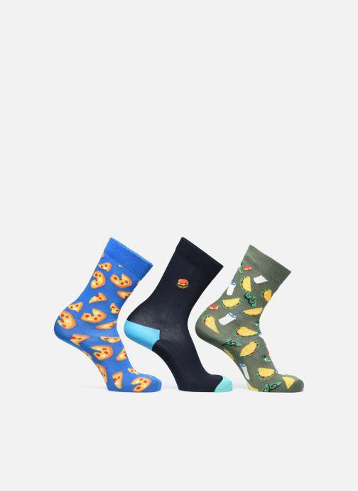 Socken & Strumpfhosen Happy Socks Gift Box Junk Food Lot de 3 mehrfarbig ansicht von rechts
