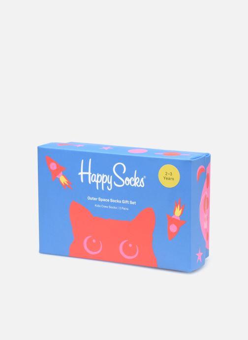 Calze e collant Happy Socks Kids Gift Box Outer Space Lot de 3 Multicolore modello indossato