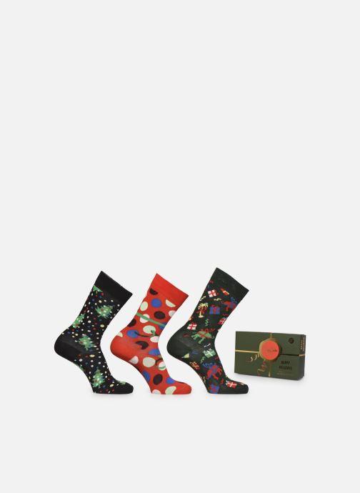 Sokken en panty's Happy Socks Gift Box Holildays Lot de 3 Multicolor detail