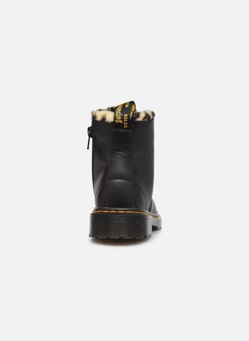 Stiefeletten & Boots Dr. Martens 1460 J Warm schwarz ansicht von rechts