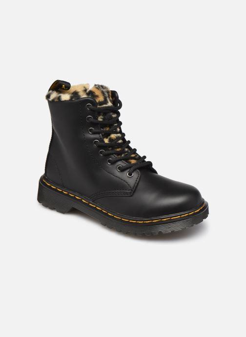 Stiefeletten & Boots Dr. Martens 1460 J Warm schwarz detaillierte ansicht/modell