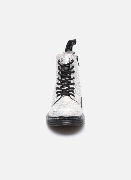 Stiefeletten & Boots Dr. Martens 1460 Pascal J silber schuhe getragen