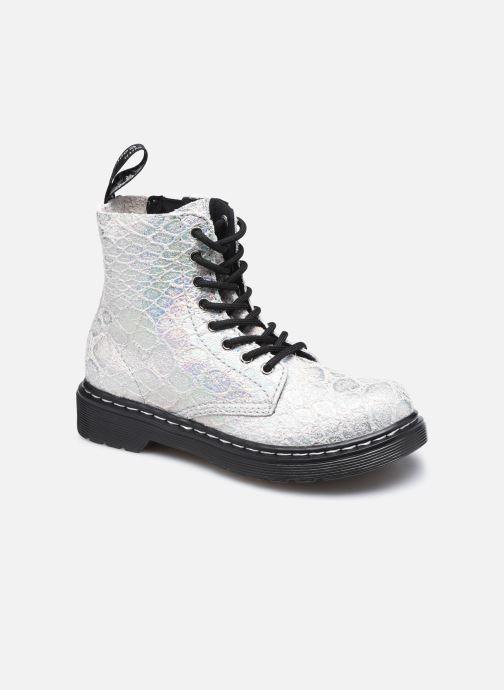 Stiefeletten & Boots Dr. Martens 1460 Pascal J silber detaillierte ansicht/modell