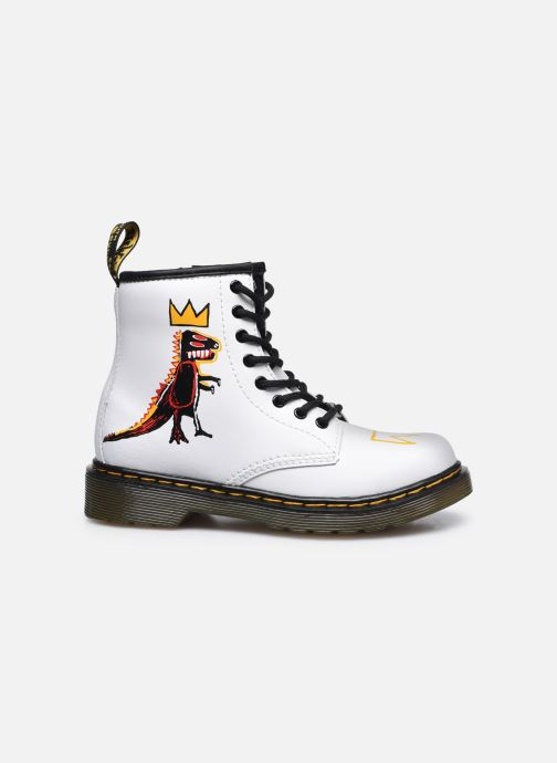 Stivaletti e tronchetti DR. Martens 1460 Basquiat J Bianco immagine posteriore