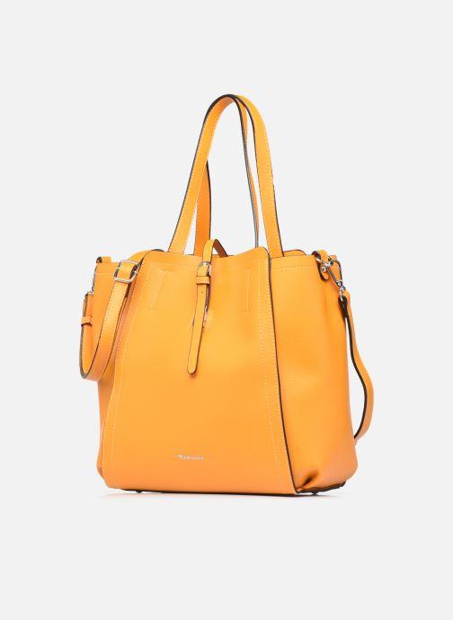Bolsos de mano Tamaris BRUNA CABAS 2 en 1 Amarillo vista del modelo
