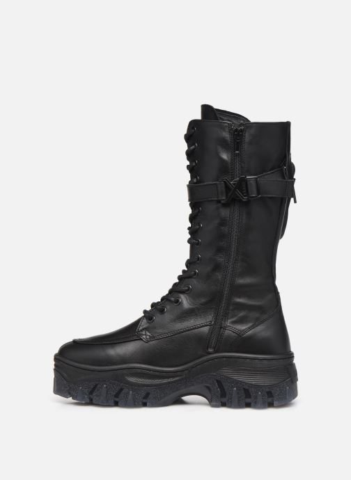 Boots en enkellaarsjes Bronx JAXSTAR 14187 Zwart voorkant