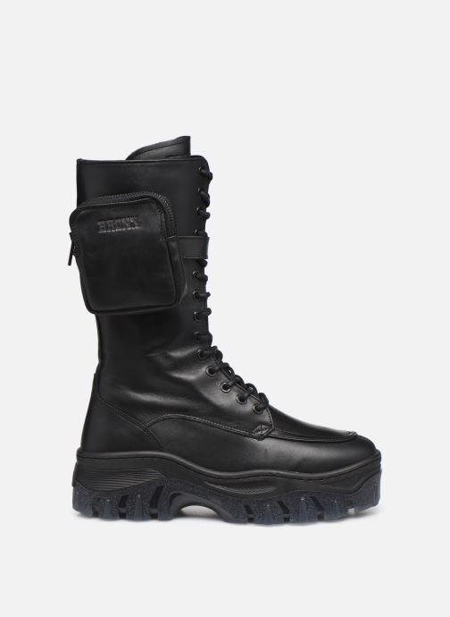 Boots en enkellaarsjes Bronx JAXSTAR 14187 Zwart achterkant