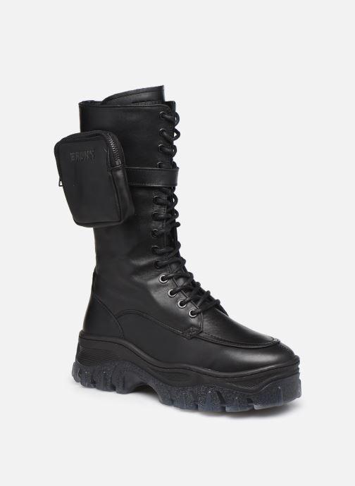 Boots en enkellaarsjes Bronx JAXSTAR 14187 Zwart detail