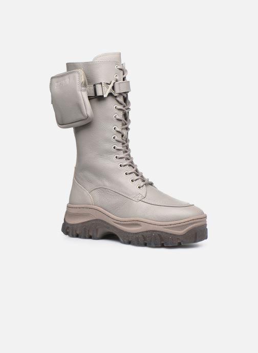 Boots en enkellaarsjes Bronx JAXSTAR 14187 Grijs detail