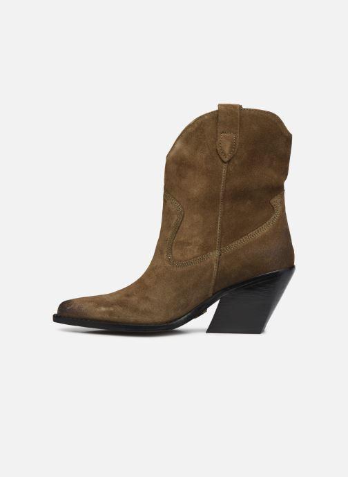 Stiefeletten & Boots Bronx LOW-KOLE 34155 grün ansicht von vorne