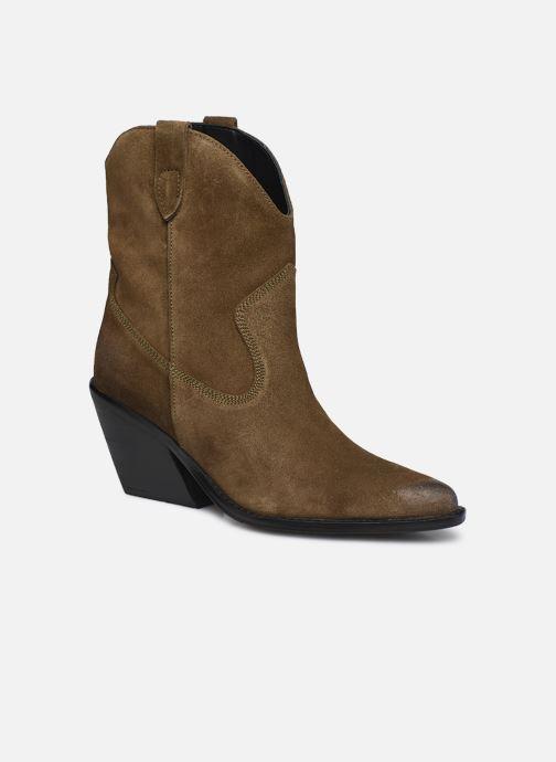 Stiefeletten & Boots Bronx LOW-KOLE 34155 grün detaillierte ansicht/modell