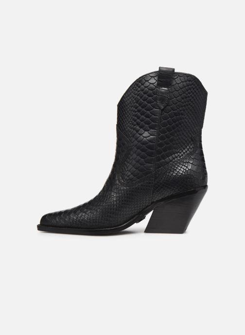 Bottines et boots Bronx LOW-KOLE 34155 Noir vue face