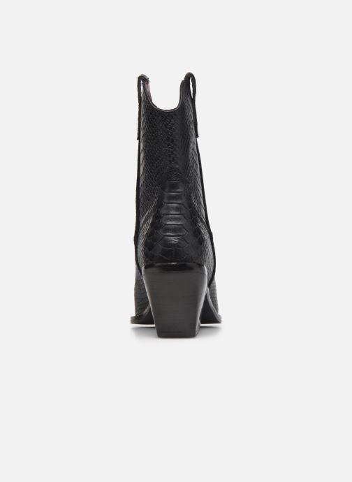 Bottines et boots Bronx LOW-KOLE 34155 Noir vue droite