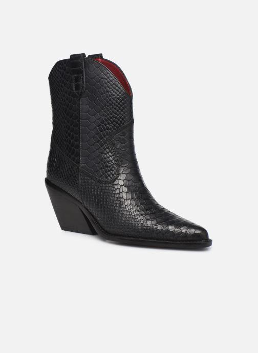 Bottines et boots Bronx LOW-KOLE 34155 Noir vue détail/paire