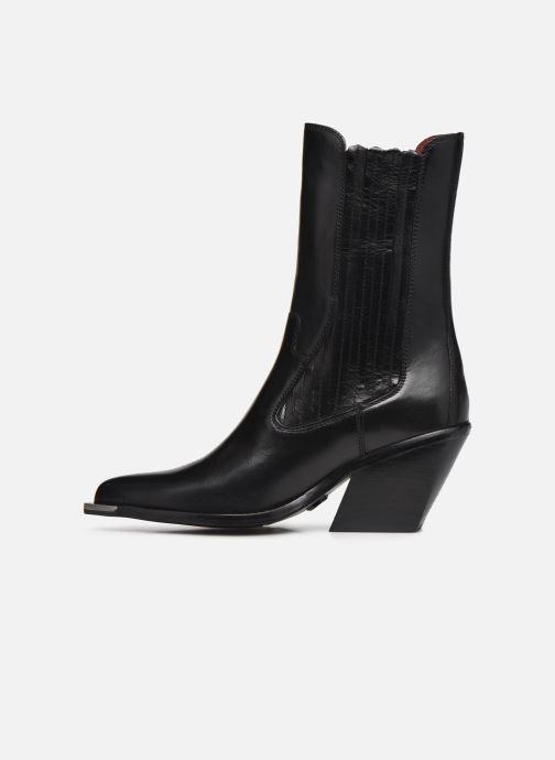 Bottines et boots Bronx LOW-KOLE 34159 Noir vue face