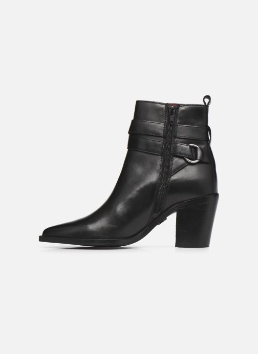 Bottines et boots Bronx NEW-AMERICANA-LOW Noir vue face