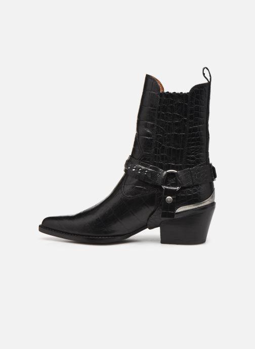 Bottines et boots Bronx JUKESON 47252 Noir vue face