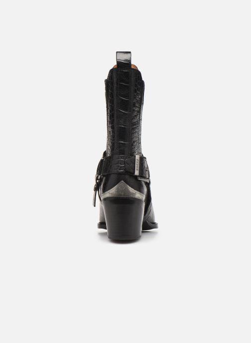 Boots en enkellaarsjes Bronx JUKESON 47252 Zwart rechts